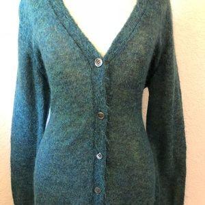 J. Crew Mohair Cardigan Sweater Medium